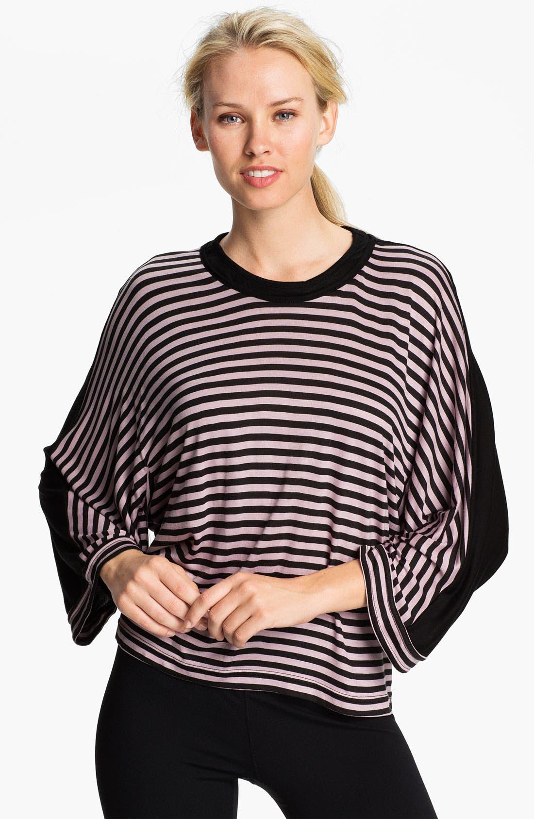 Alternate Image 1 Selected - adidas by Stella McCartney 'Yoga' Stripe Tee