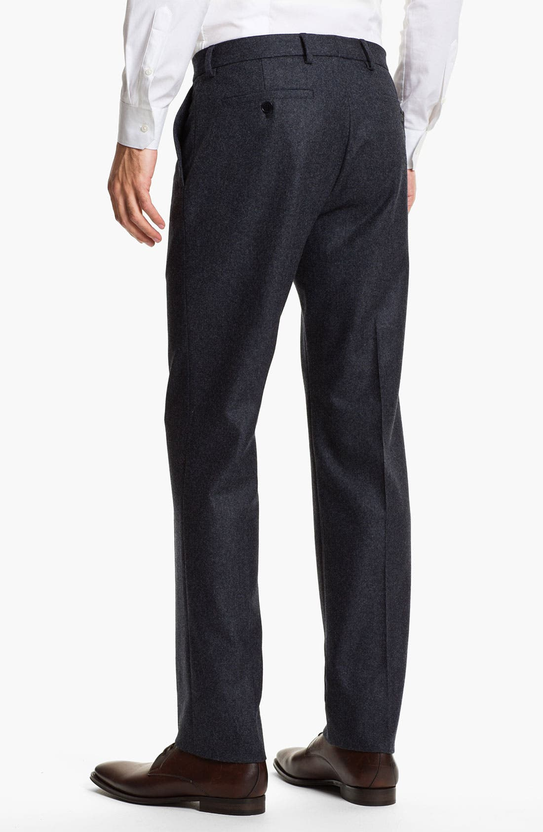 Alternate Image 2  - Salvatore Ferragamo Wool Trousers