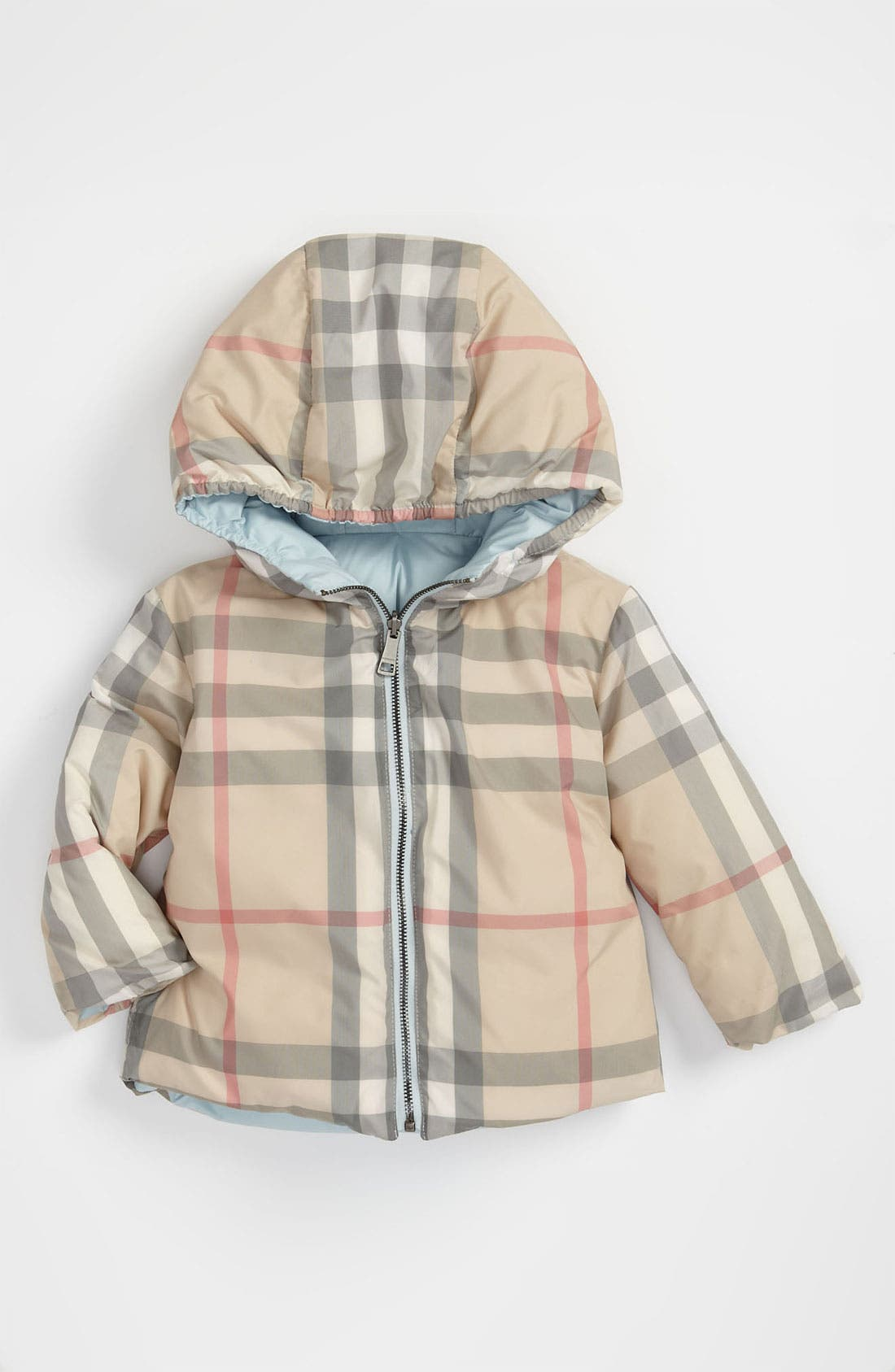 Alternate Image 2  - Burberry Down Filled Puffer Jacket (Infant)