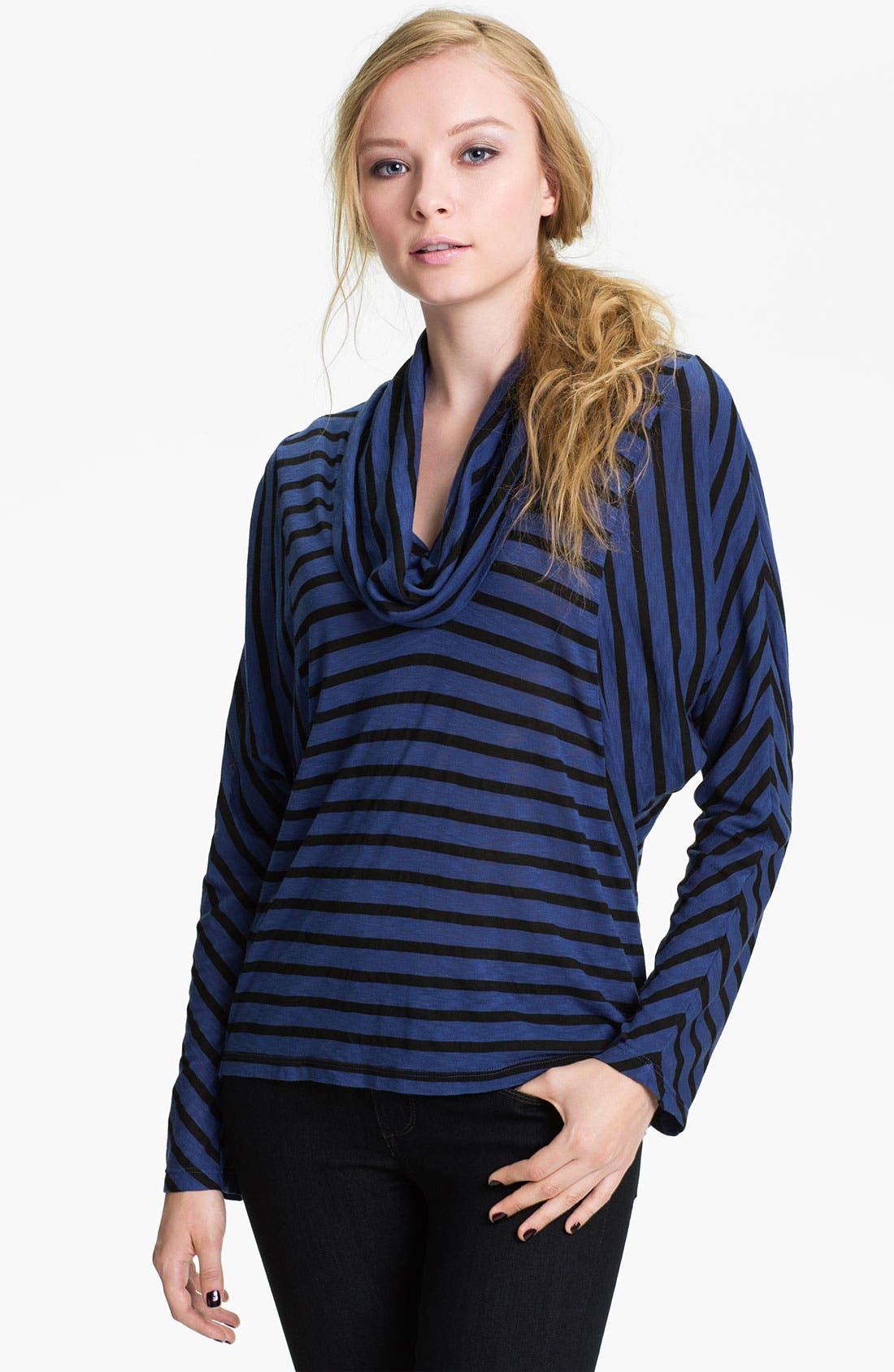 Alternate Image 1 Selected - Splendid 'Venice' Stripe Cowl Neck Top