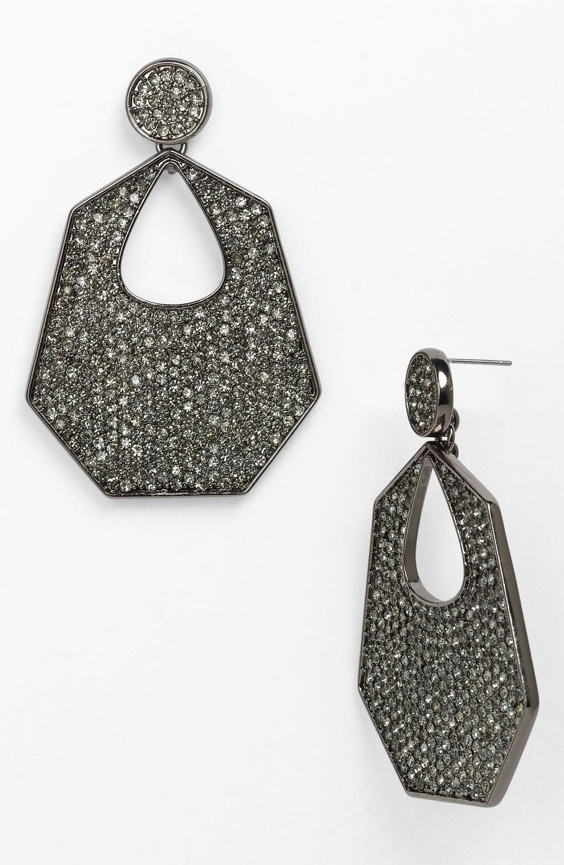 Alternate Image 1 Selected - Vince Camuto Door Knocker Earrings