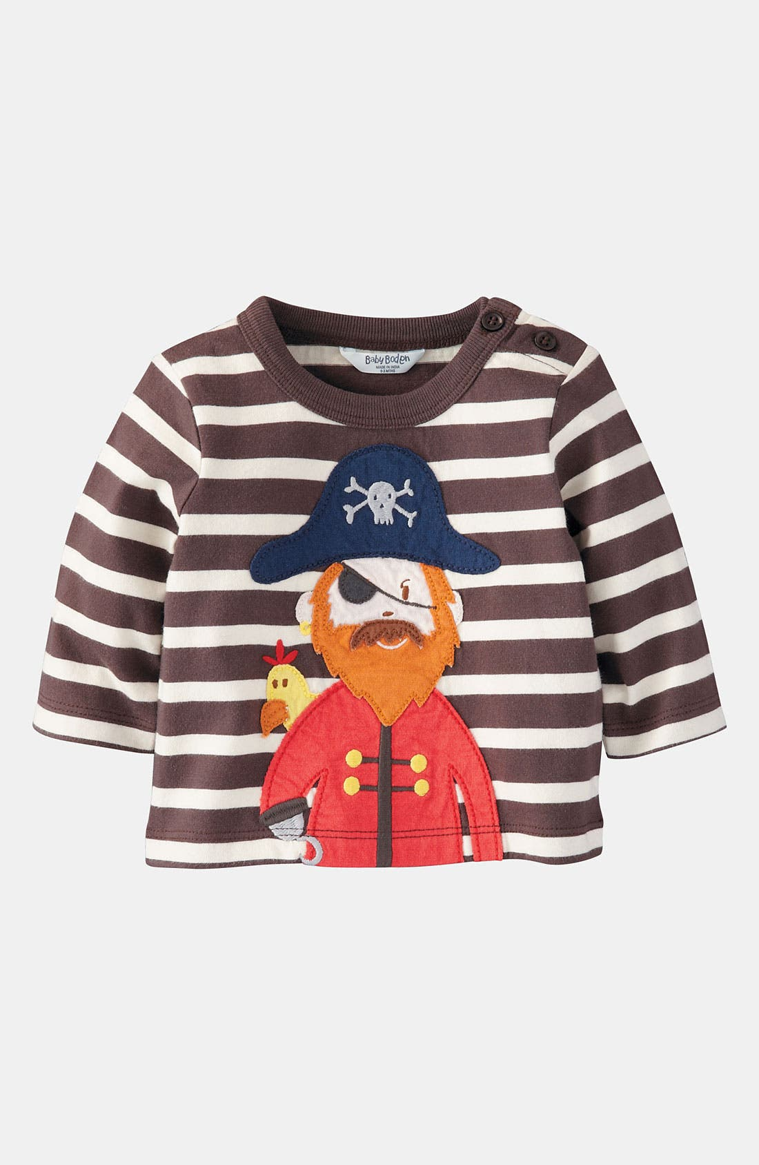 Alternate Image 1 Selected - Mini Boden 'When I Grow Up' T-Shirt (Infant)