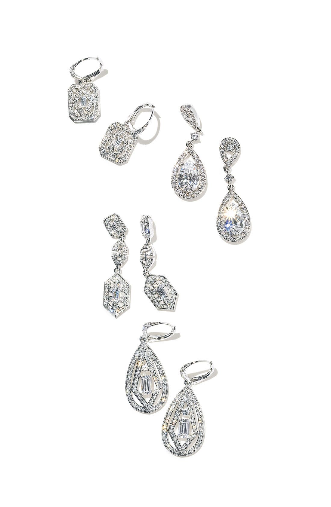 Alternate Image 3  - Nadri Teardrop Drop Earrings (Nordstrom Exclusive)
