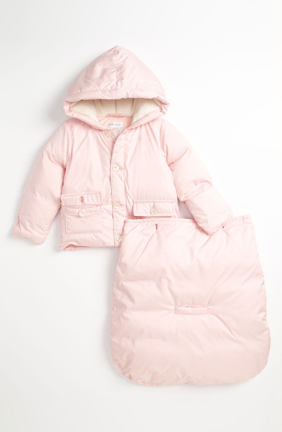 Alternate Image 2  - Ralph Lauren Quilted Bunting (Infant)