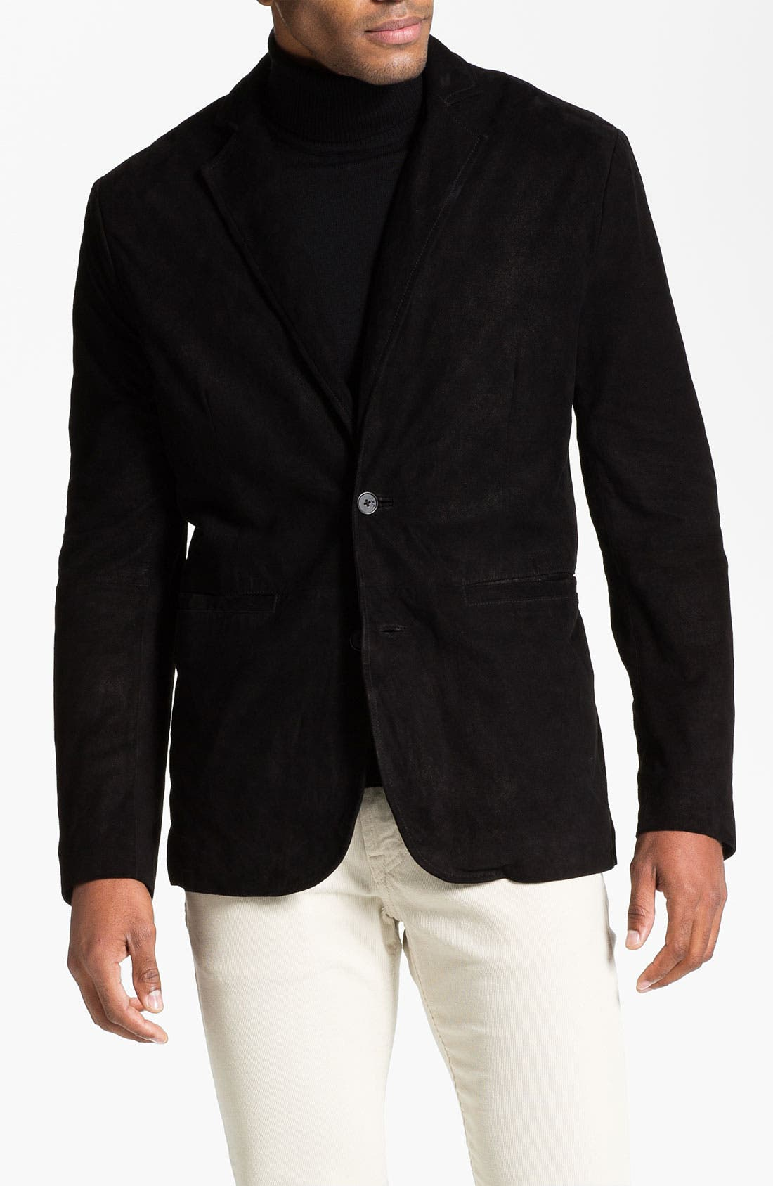 Alternate Image 1 Selected - John Varvatos Star USA Suede Blazer