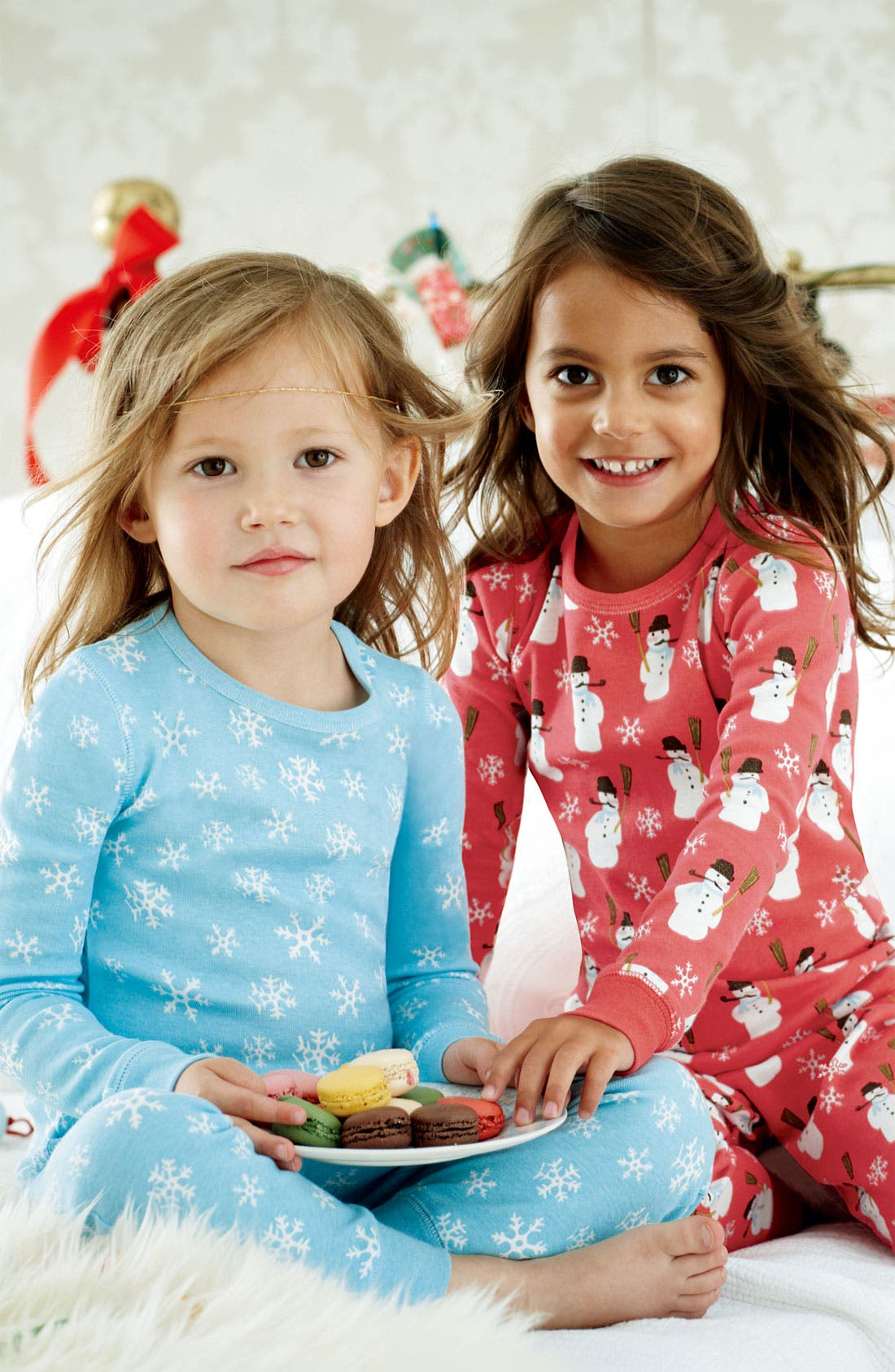Alternate Image 2  - Mini Boden Fitted Pajamas (2-Pack) (Toddler)