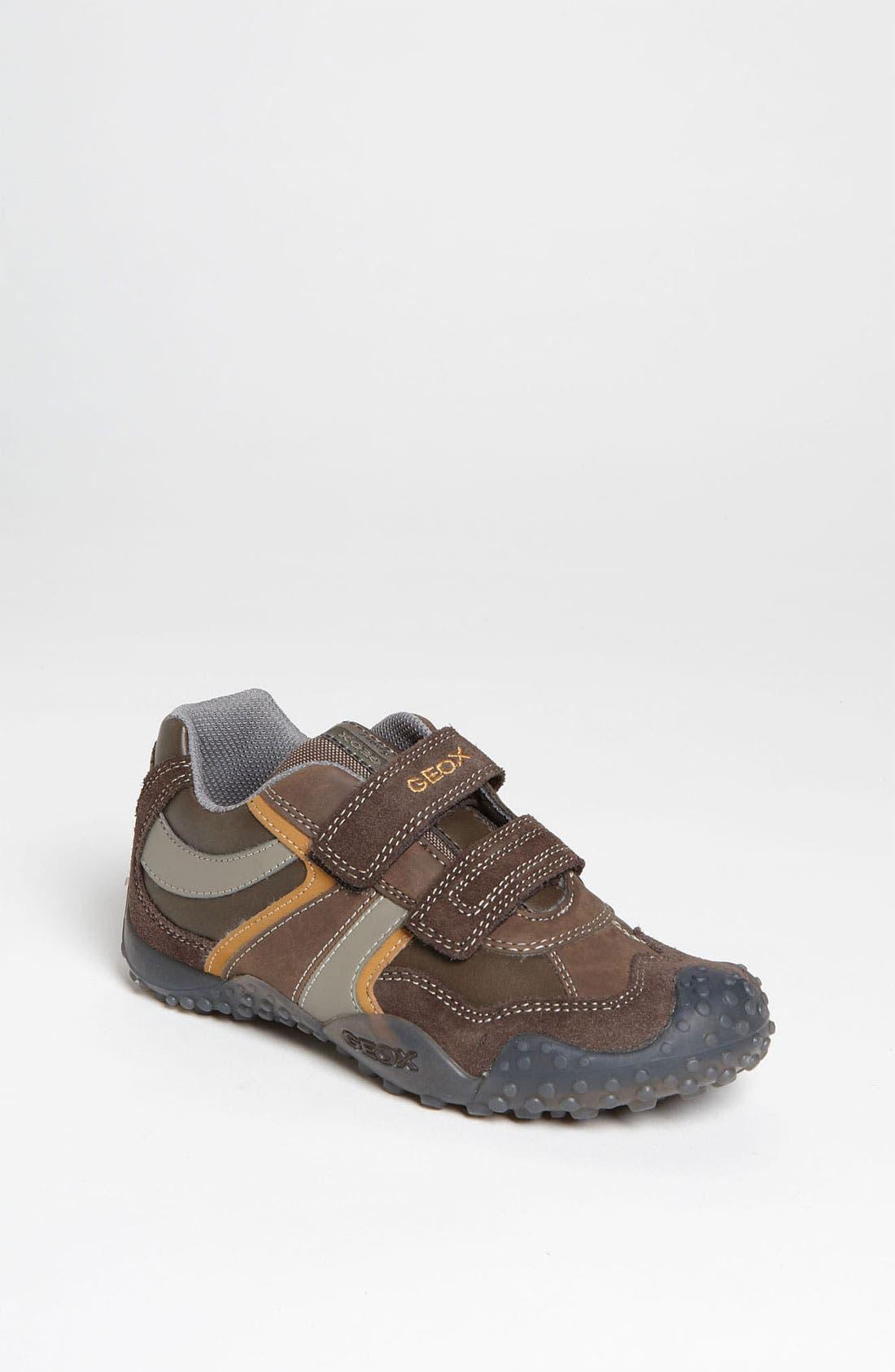 Alternate Image 1 Selected - Geox 'Giant' Sneaker (Toddler, Little Kid & Big Kid)