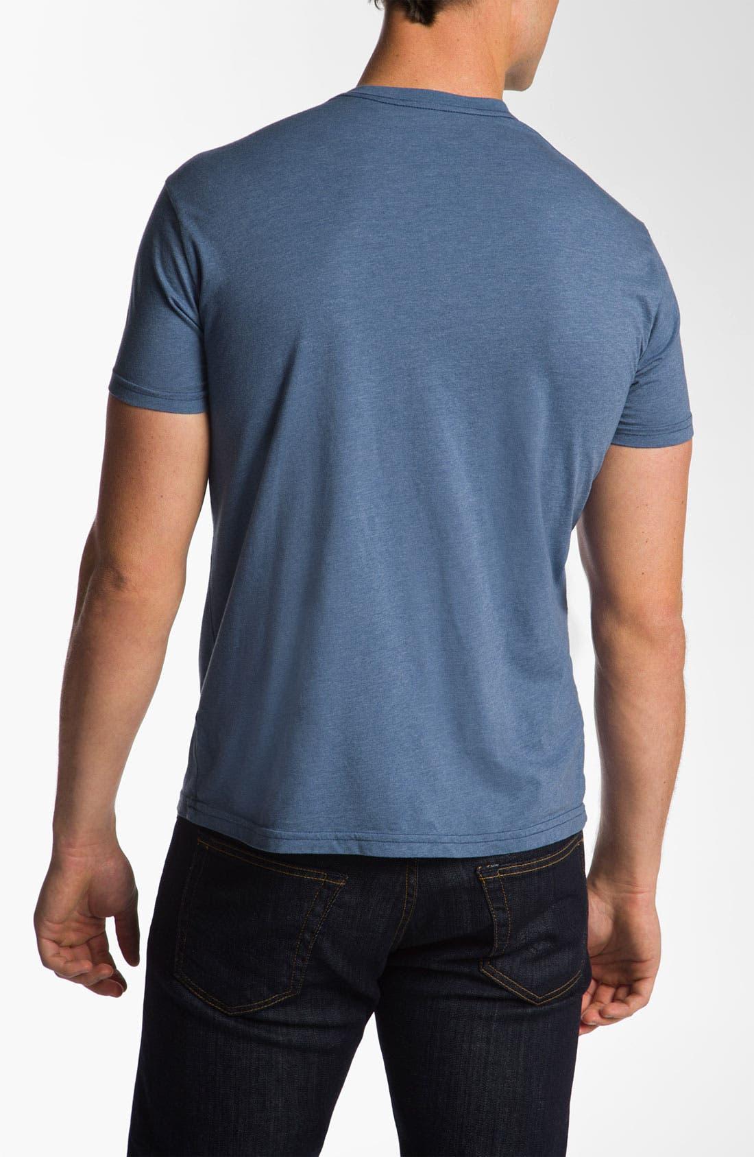 Alternate Image 2  - The Original Retro Brand 'University of Kansas Jayhawks' T-Shirt