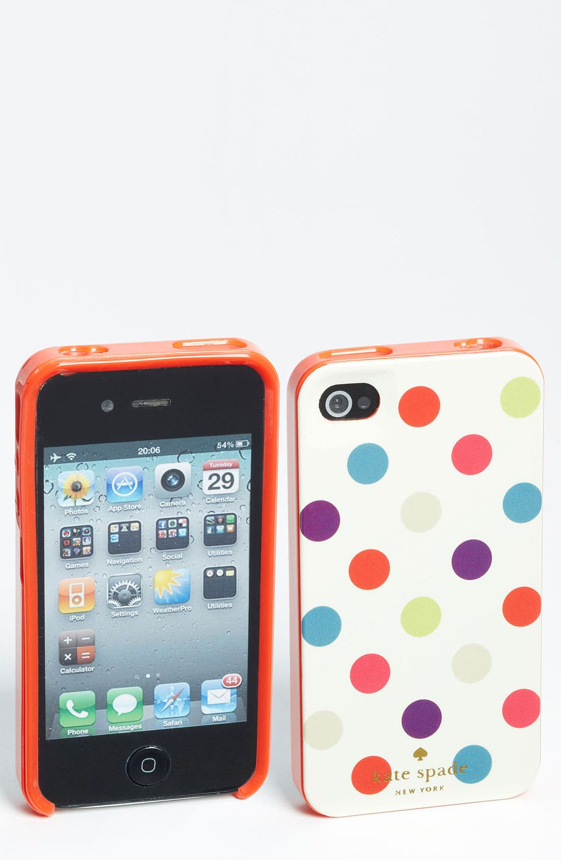 Alternate Image 1 Selected - kate spade new york 'la pavillion' iPhone 4 & 4S case