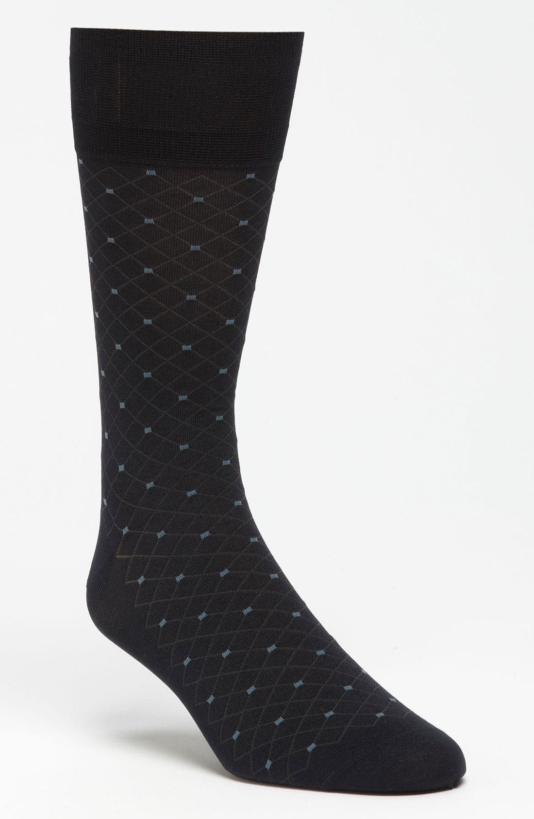 Alternate Image 1 Selected - John W. Nordstrom® Diamond Socks