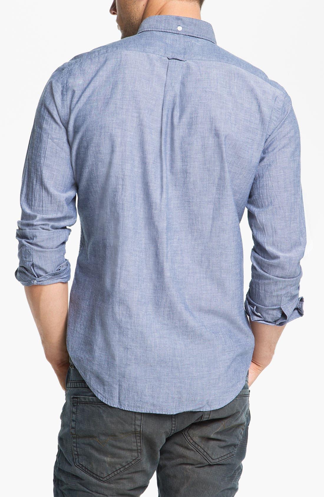 Alternate Image 2  - Gant Rugger Chambray Shirt