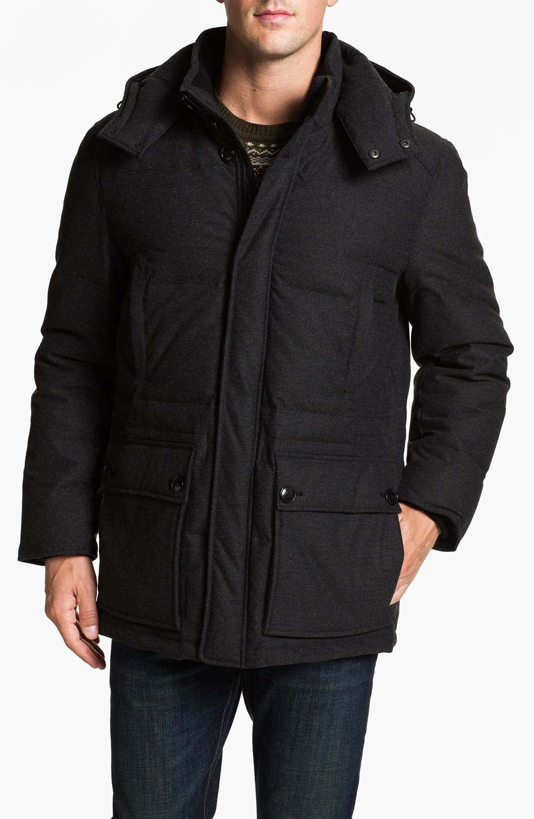 Alternate Image 1 Selected - Cole Haan Down Parka