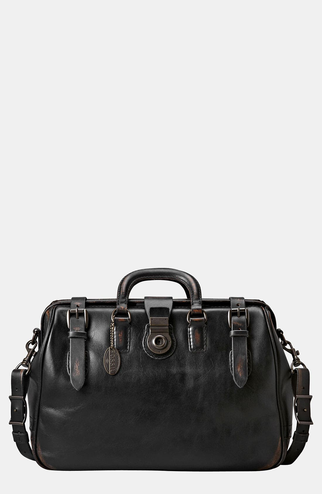 Main Image - Fossil 'Edition' Leather Carpenter Bag