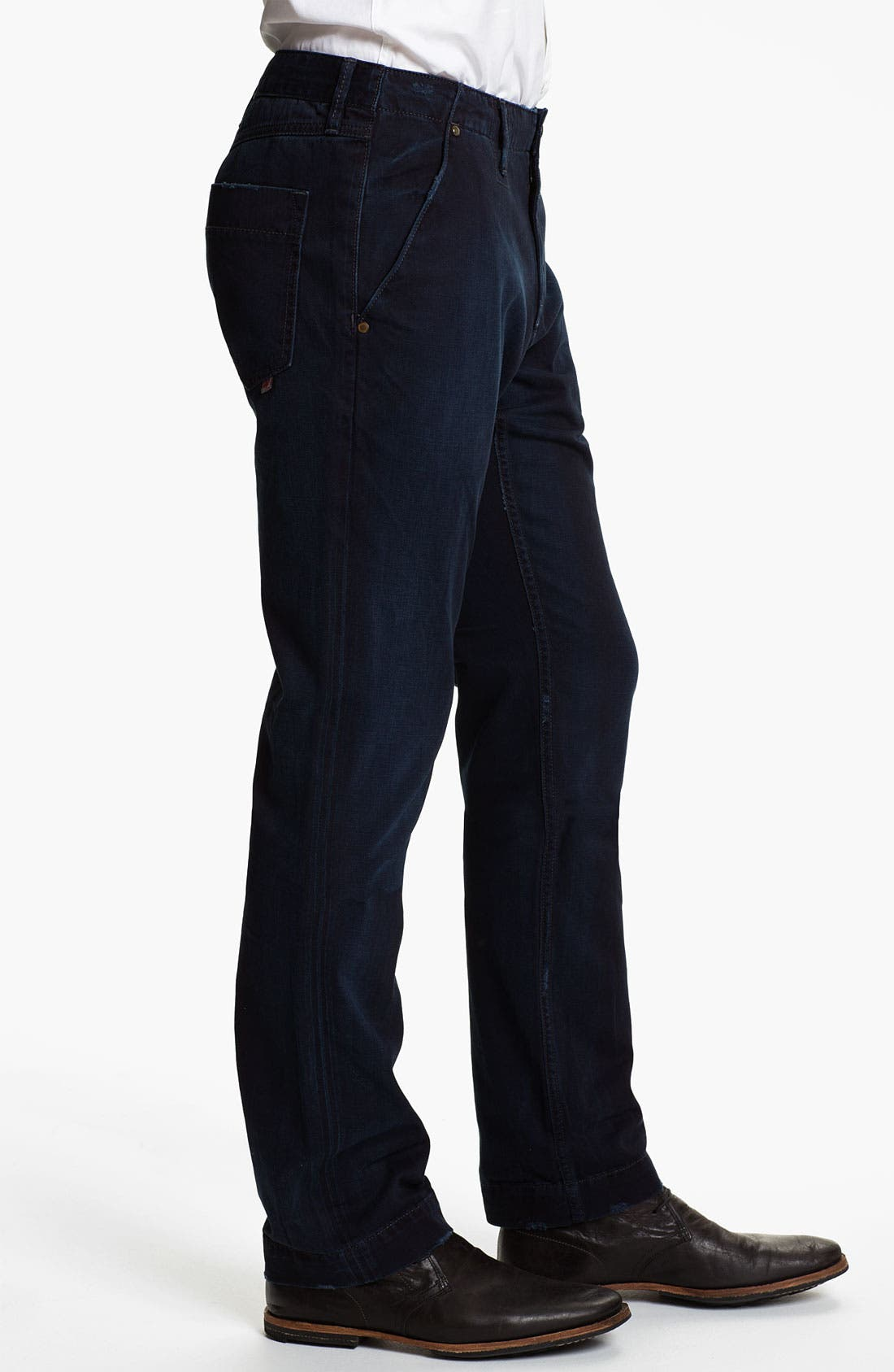Alternate Image 3  - Robert Graham Jeans 'Blue Tar' Classic Fit Straight Leg Chinos