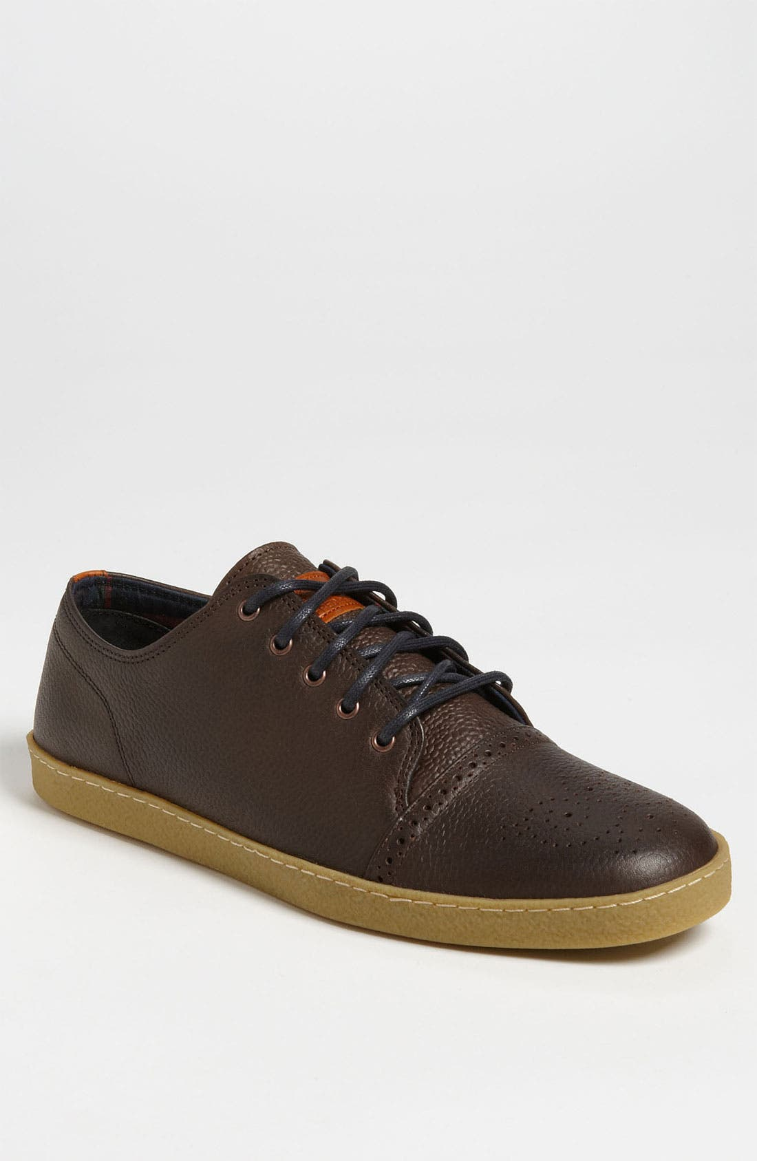 Alternate Image 1 Selected - Fred Perry 'Deighton' Leather Sneaker