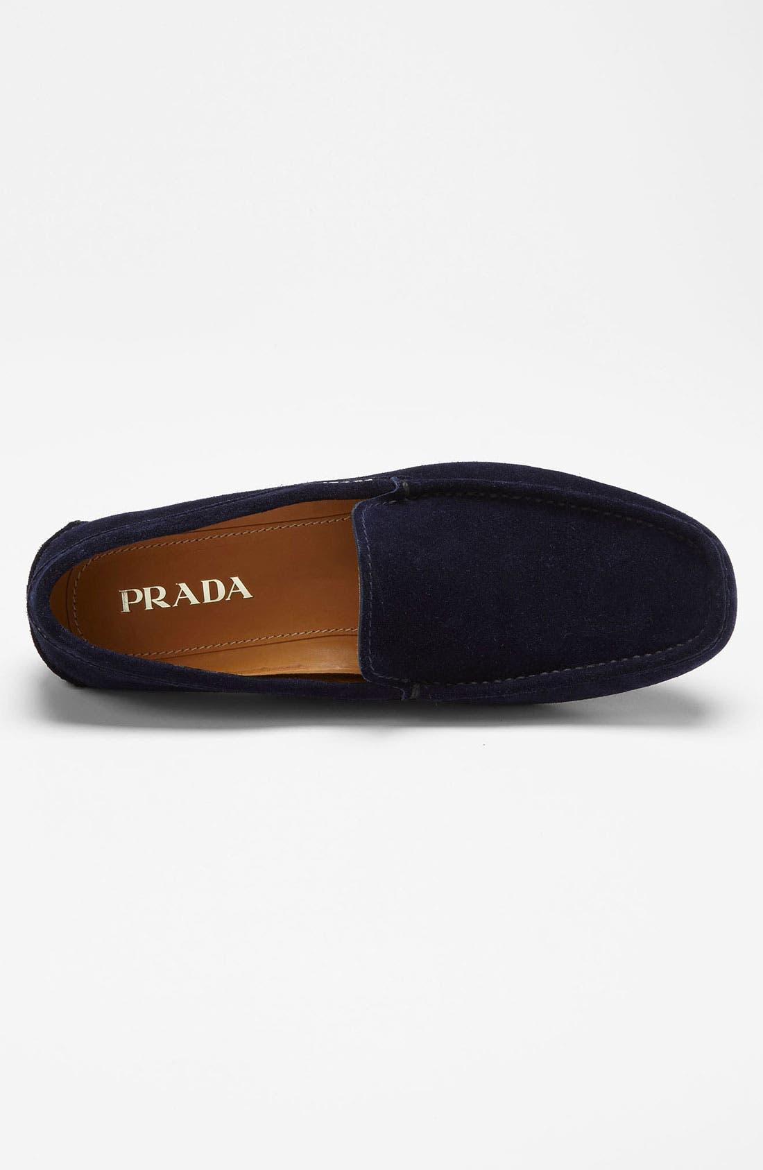 Alternate Image 3  - Prada Suede Driving Shoe