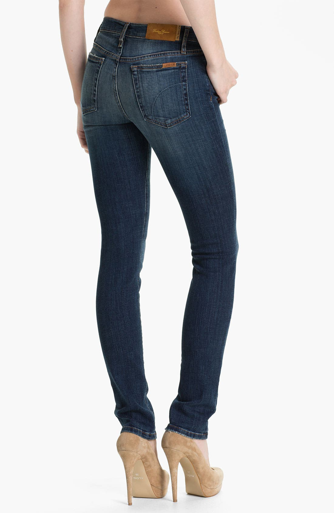 Alternate Image 2  - Joe's Skinny Stretch Jeans (Gerri)