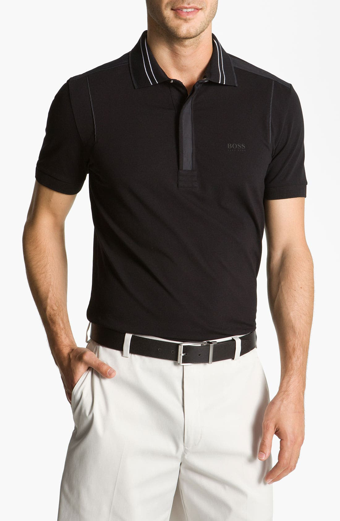 Main Image - BOSS Green 'Pagno' Slim Fit Polo