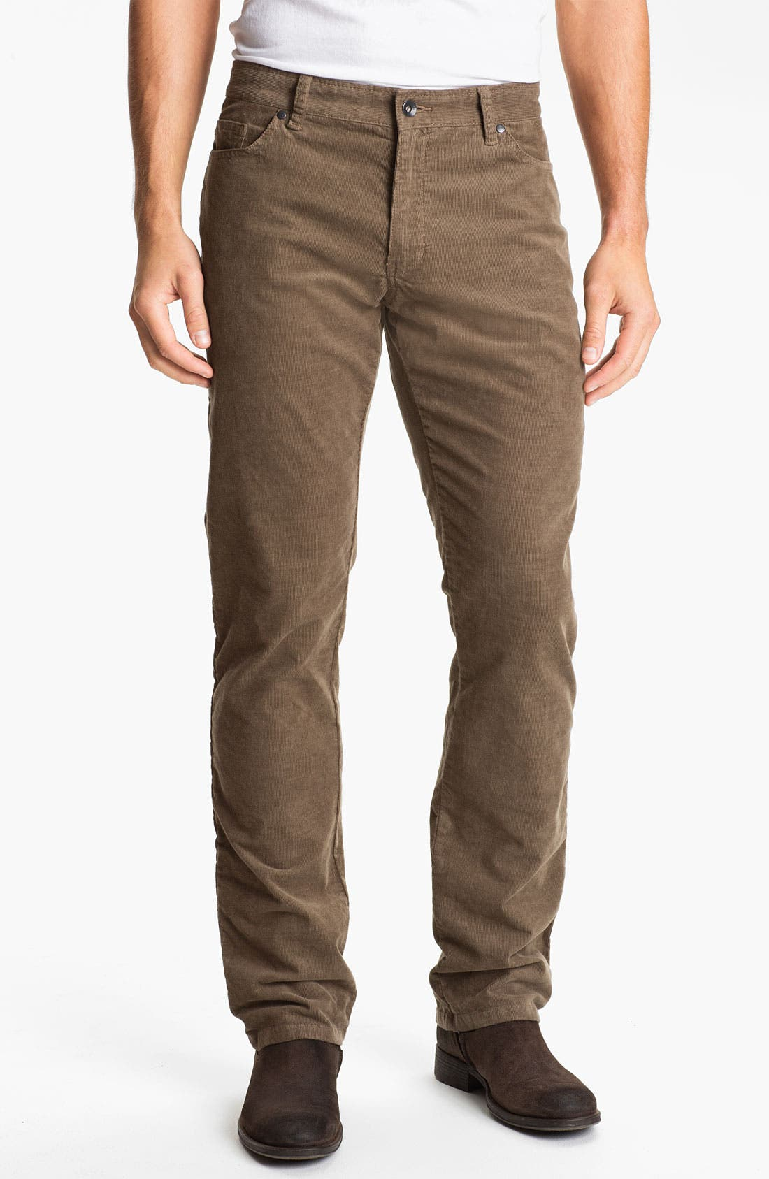 Alternate Image 1 Selected - Victorinox Swiss Army® 'Berne' Corduroy Pants