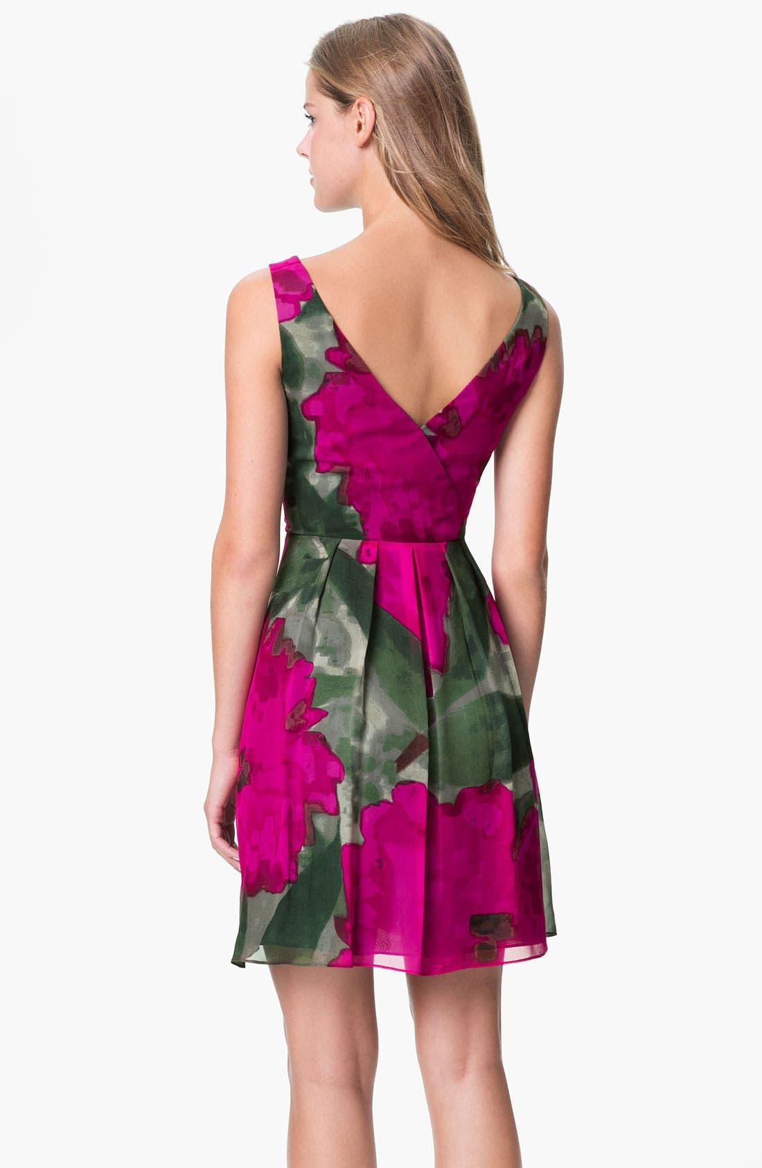 Alternate Image 2  - Trina Turk 'Winston' Printed Silk Fit & Flare Dress