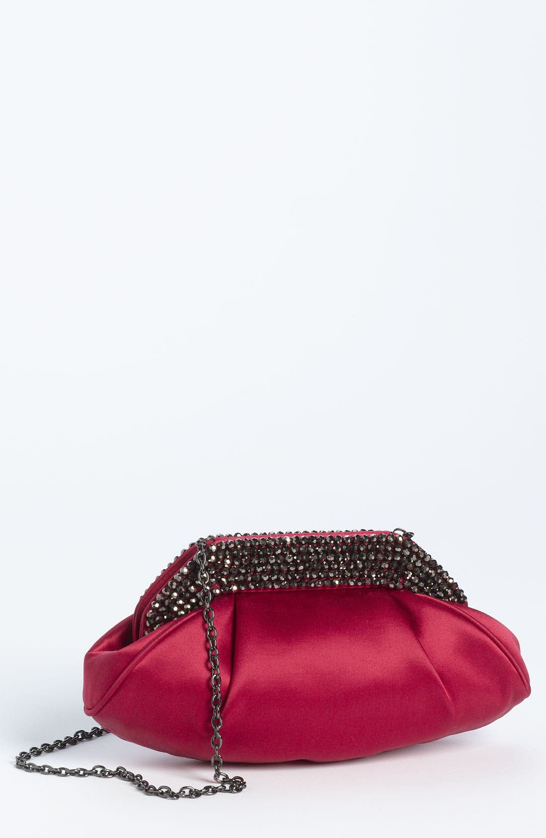 Main Image - Sondra Roberts Glass Bead Collar Clutch