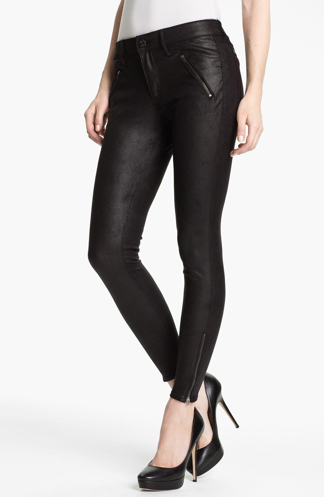 Main Image - Habitual 'Amalia' Skinny Coated Faux Leather Pants