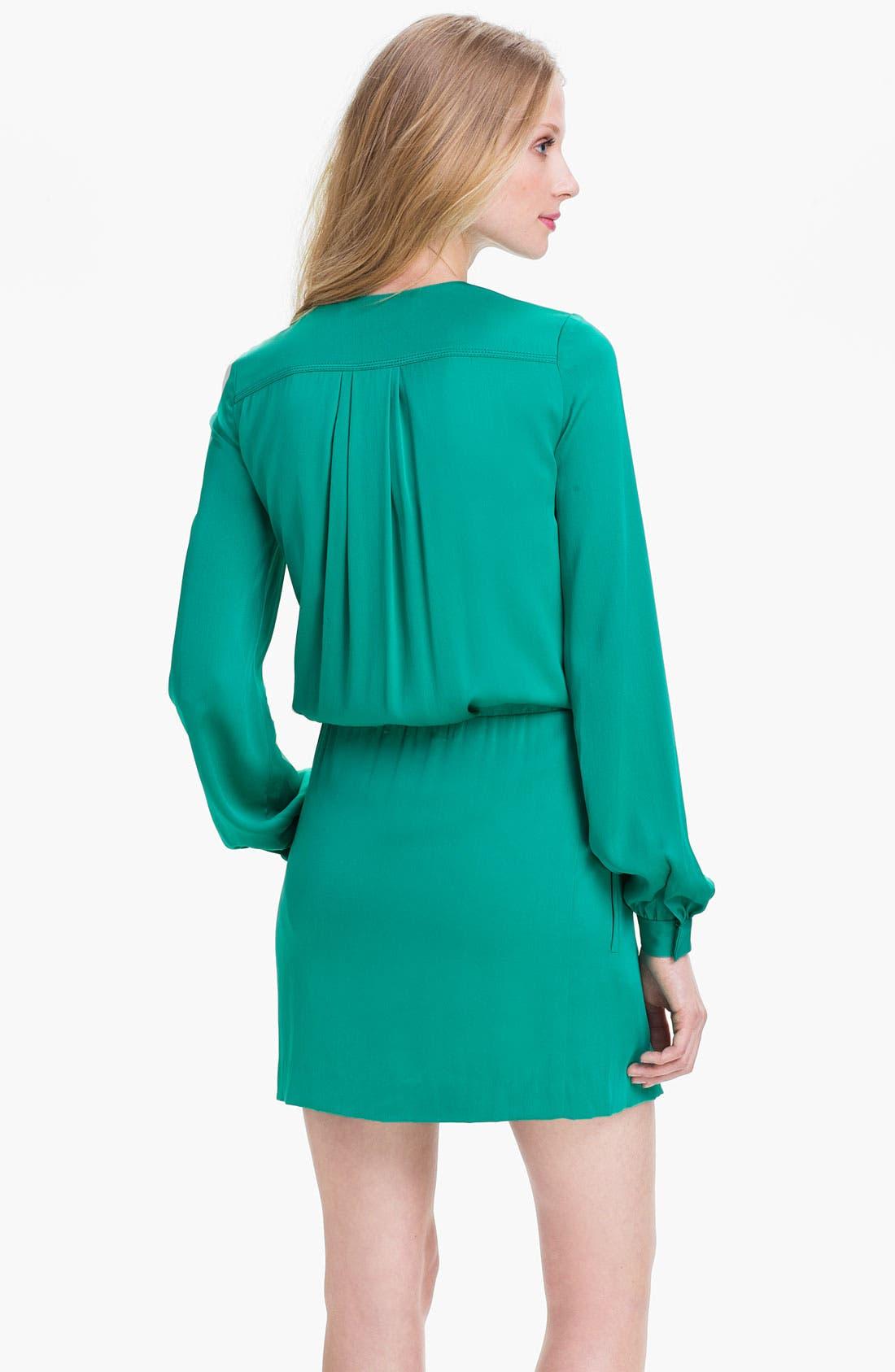 Alternate Image 2  - Diane von Furstenberg 'Dora' Stretch Silk Blouson Dress (Online Exclusive)
