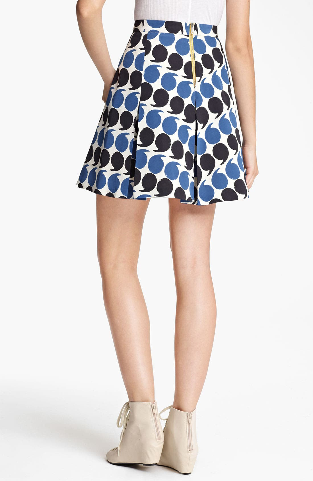 Alternate Image 2  - Band of Outsiders Punctuation Print Skirt