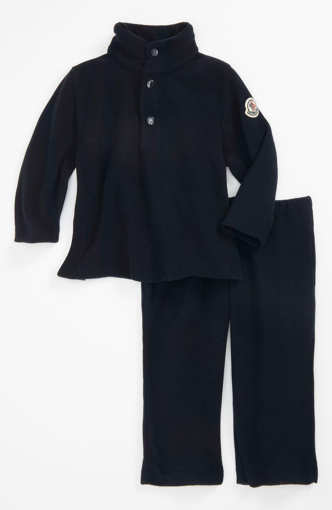 Alternate Image 1 Selected - Moncler Top & Pants (Infant)