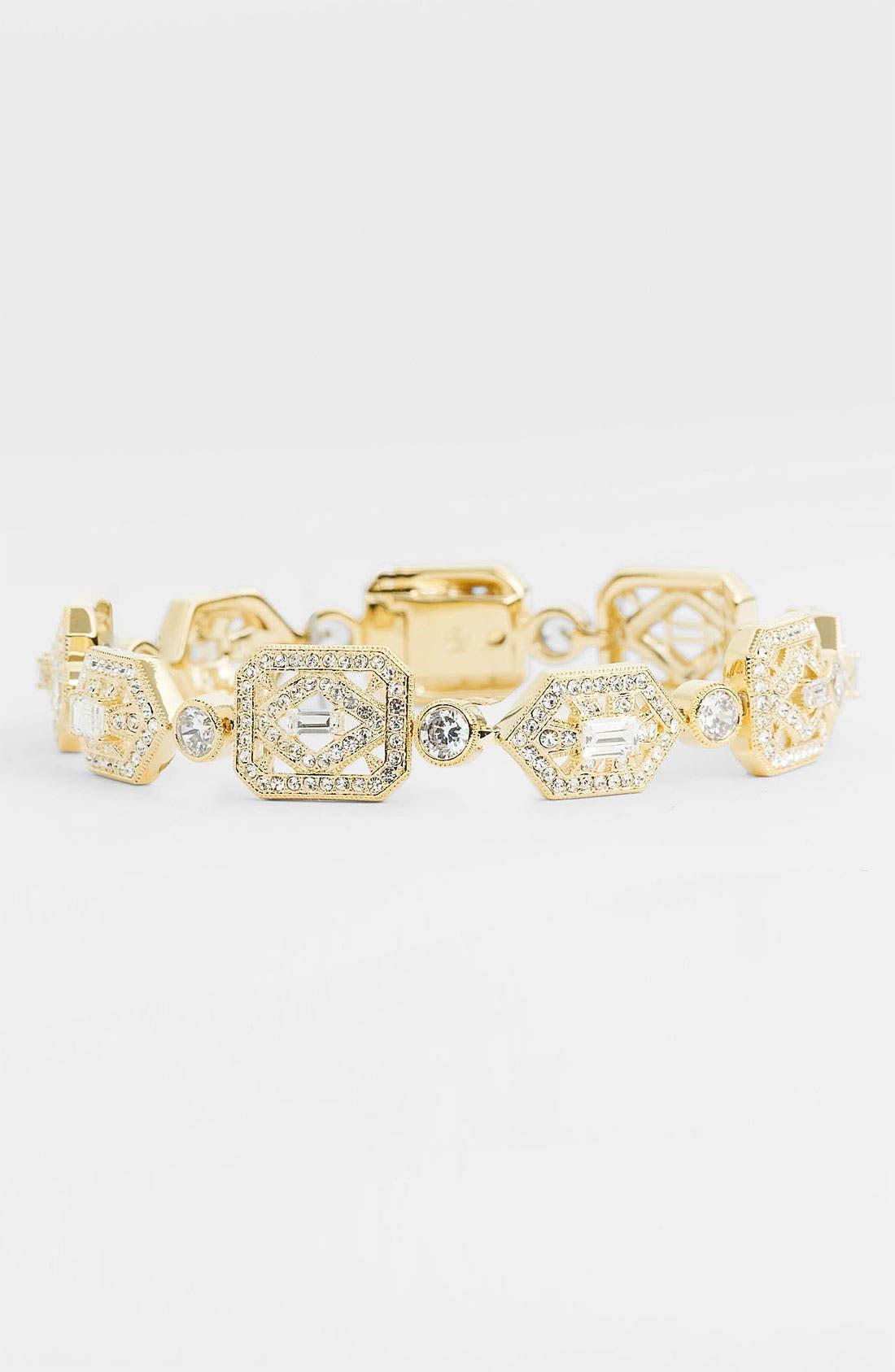 Alternate Image 1 Selected - Nadri 'Art Deco' Line Bracelet (Nordstrom Exclusive)