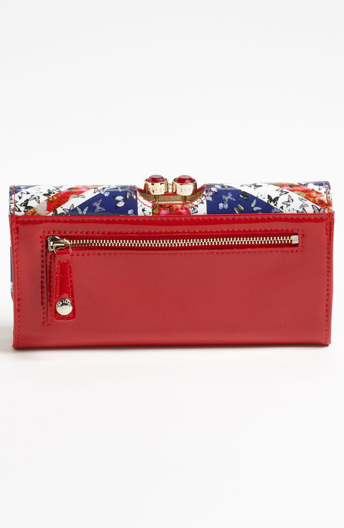 Alternate Image 4  - Ted Baker London 'Union Jack - Crystal Bobble' Matinee Wallet
