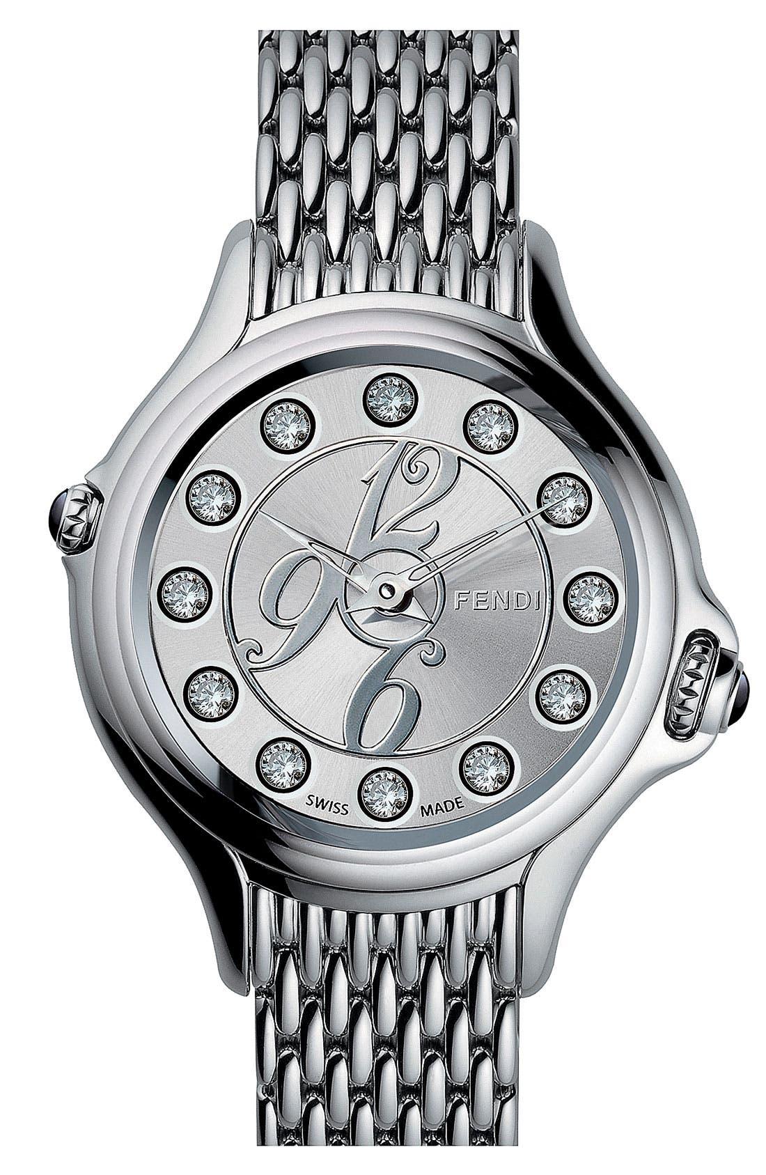 Alternate Image 3  - Fendi 'Crazy Carats' Bracelet Watch, 38mm