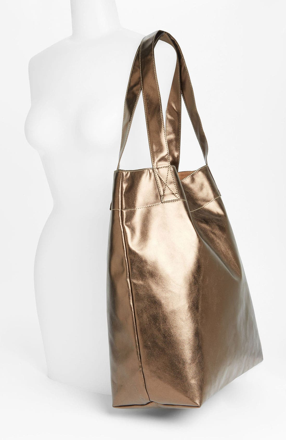Alternate Image 2  - Cesca Metallic Tote