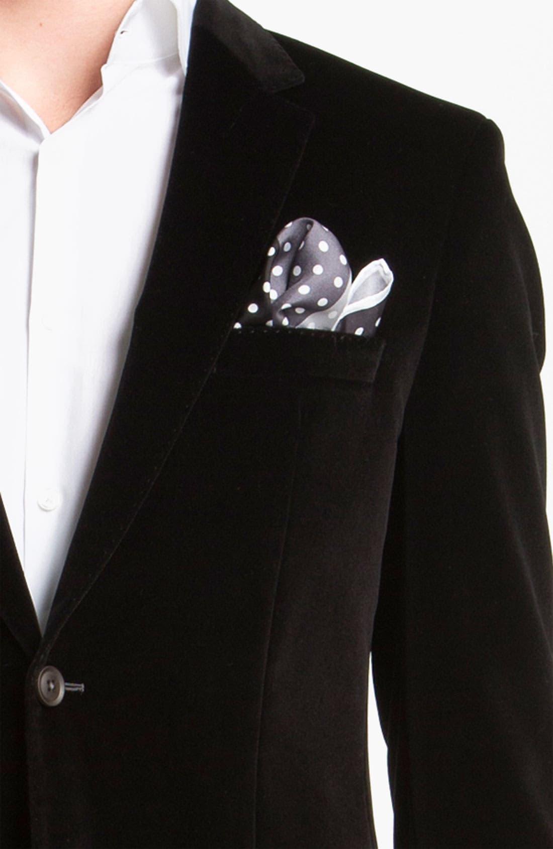 Alternate Image 3  - BOSS Black 'Keys' Velvet Blazer