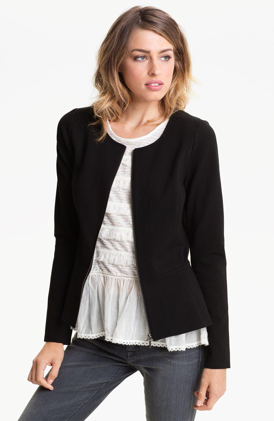 Alternate Image 1 Selected - Hinge® Peplum Jacket
