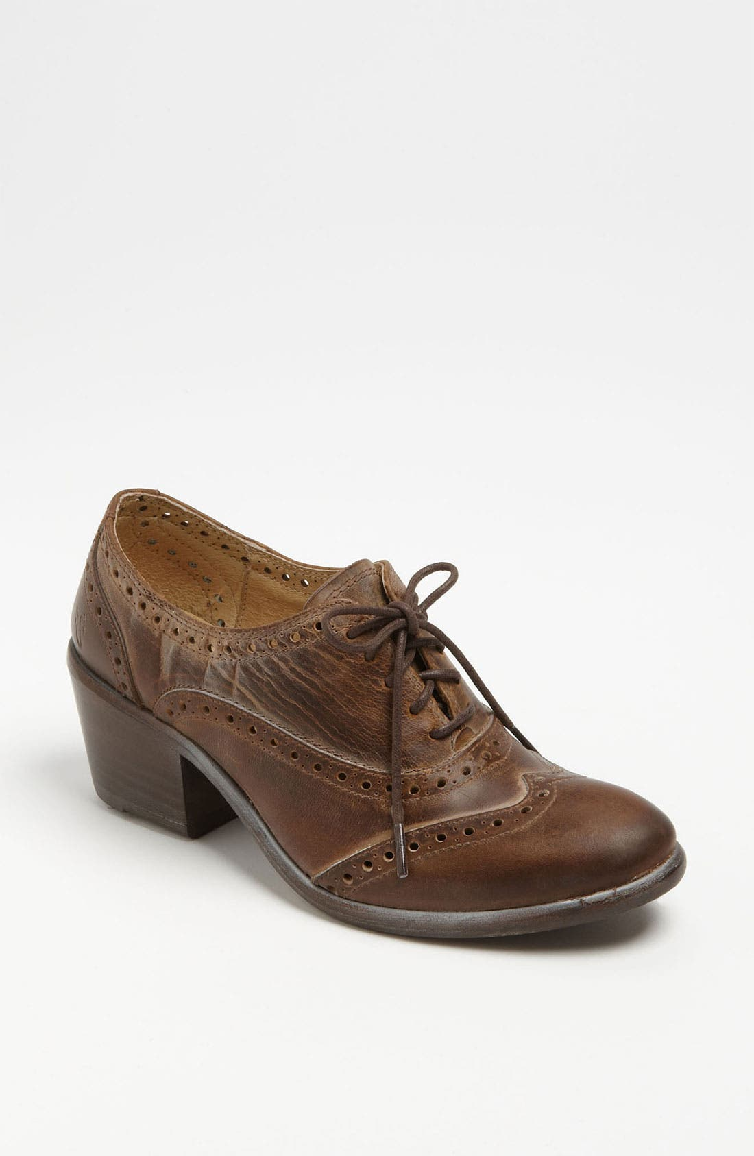 Main Image - Frye 'Maggie' Perforated Wingtip Oxford
