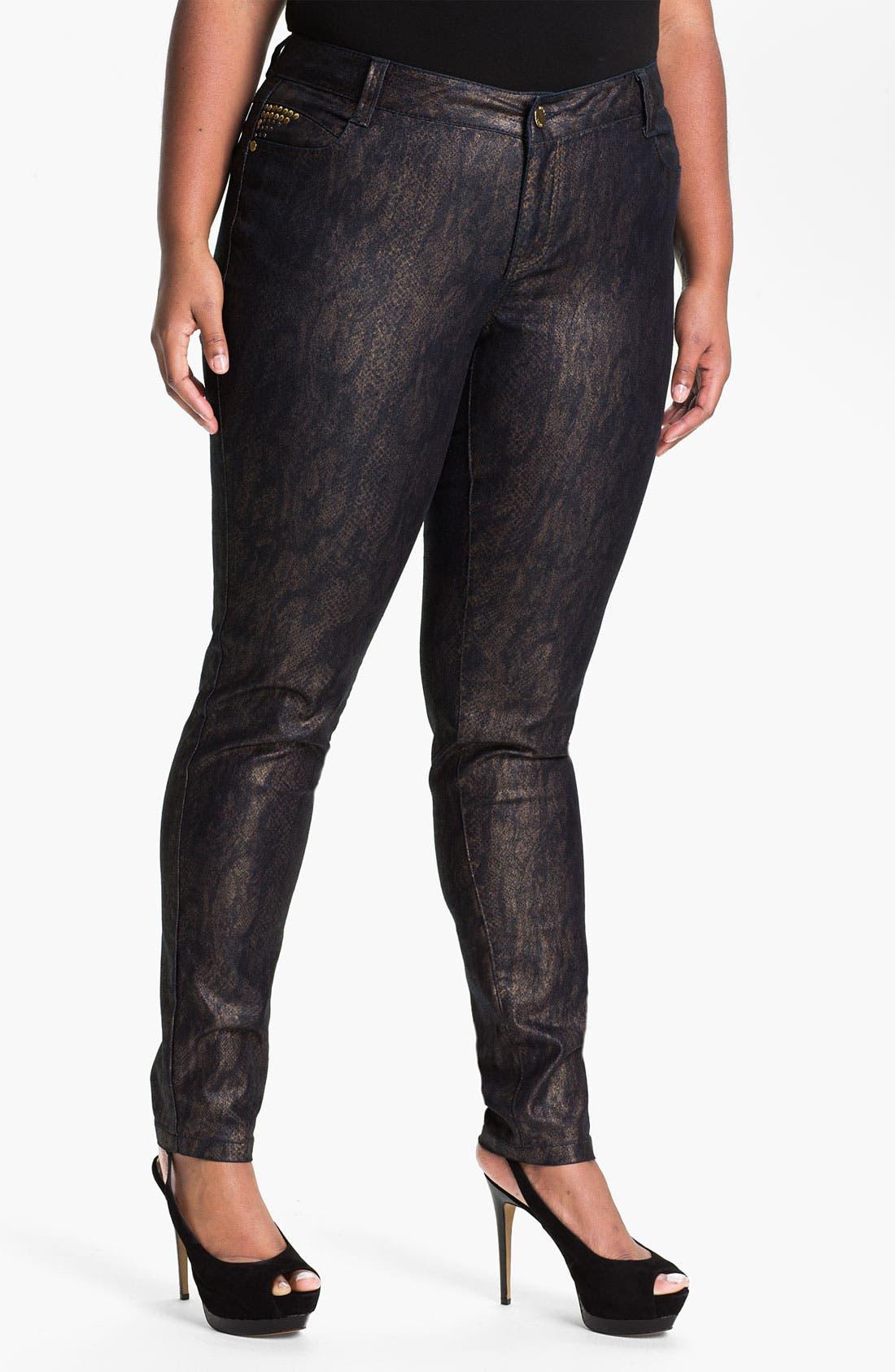 Alternate Image 1 Selected - Mynt 1792 'Murray Hill' Skinny Jeans (Plus)