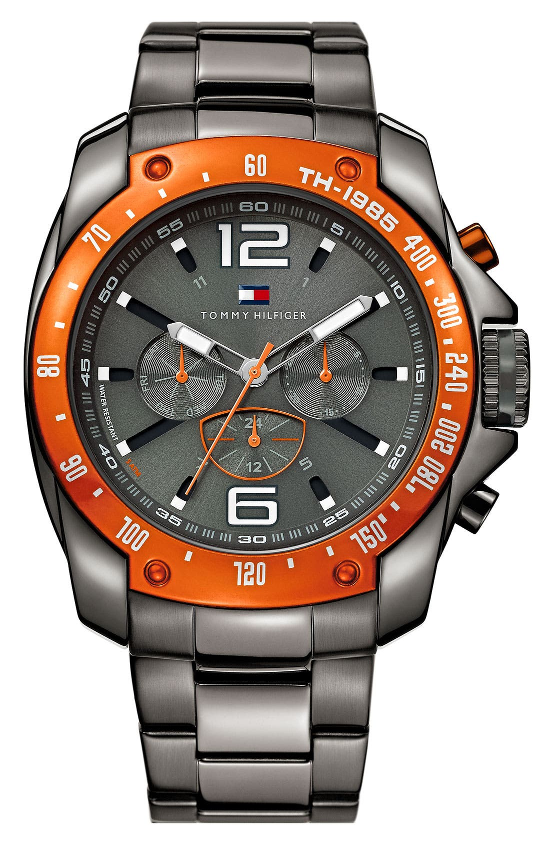 Alternate Image 1 Selected - Tommy Hilfiger Chronograph Bracelet Watch, 46mm