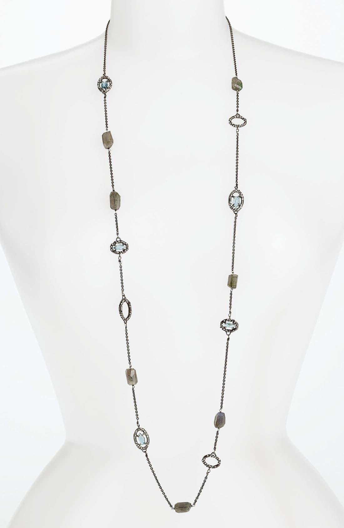Alternate Image 1 Selected - Alexis Bittar 'Miss Havisham - Deco' Long Station Necklace (Nordstrom Exclusive)