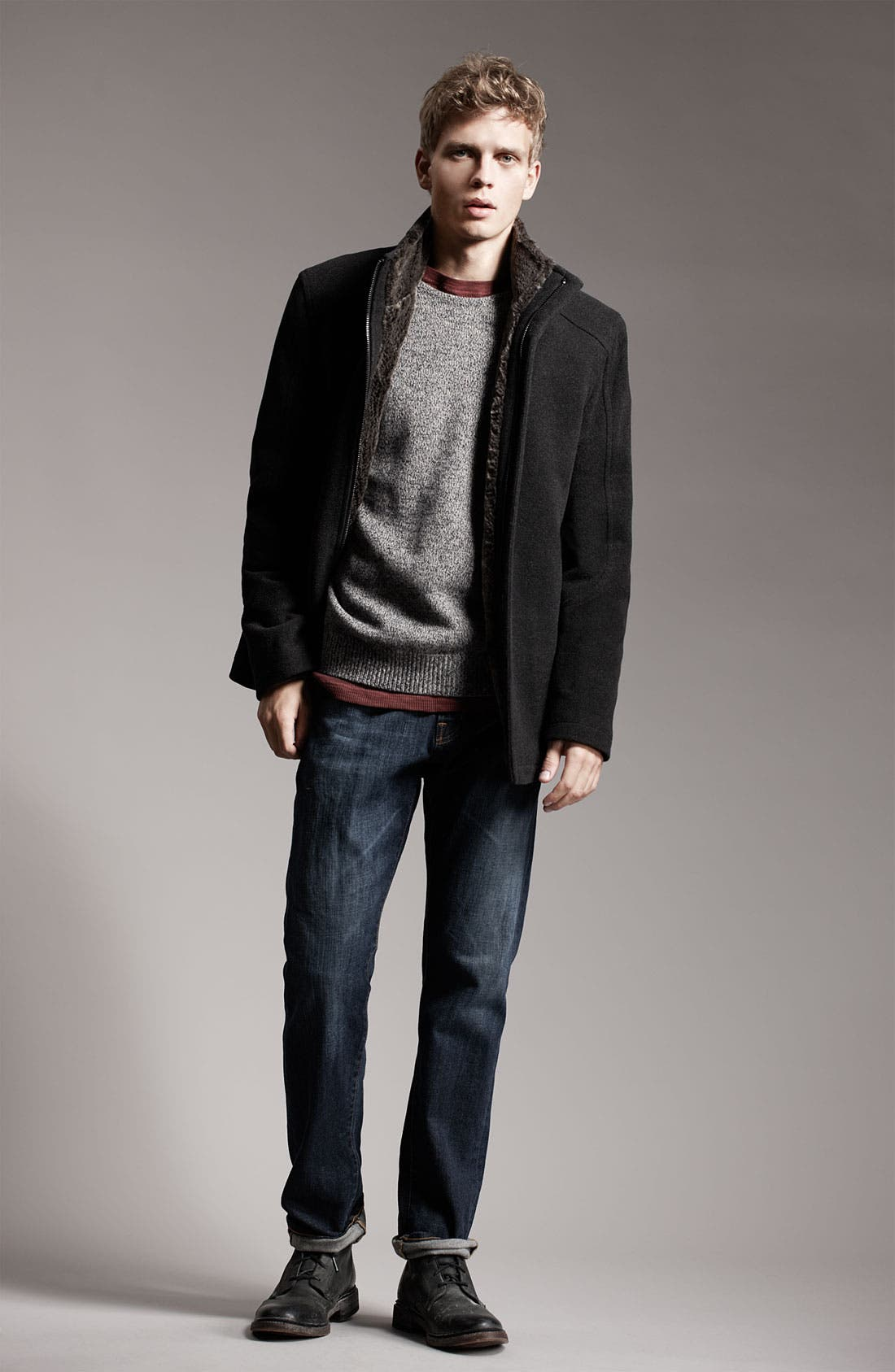 Alternate Image 2  - Marc New York by Andrew Marc 'Wagner' Wool Blend Jacket