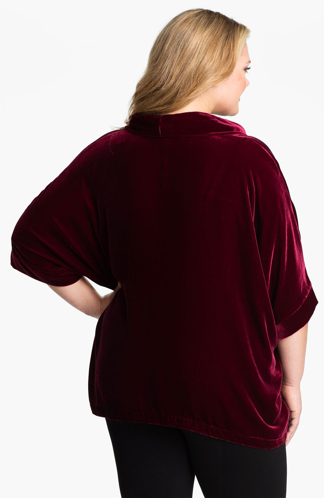 Alternate Image 2  - Eileen Fisher Cowl Neck Top (Plus)