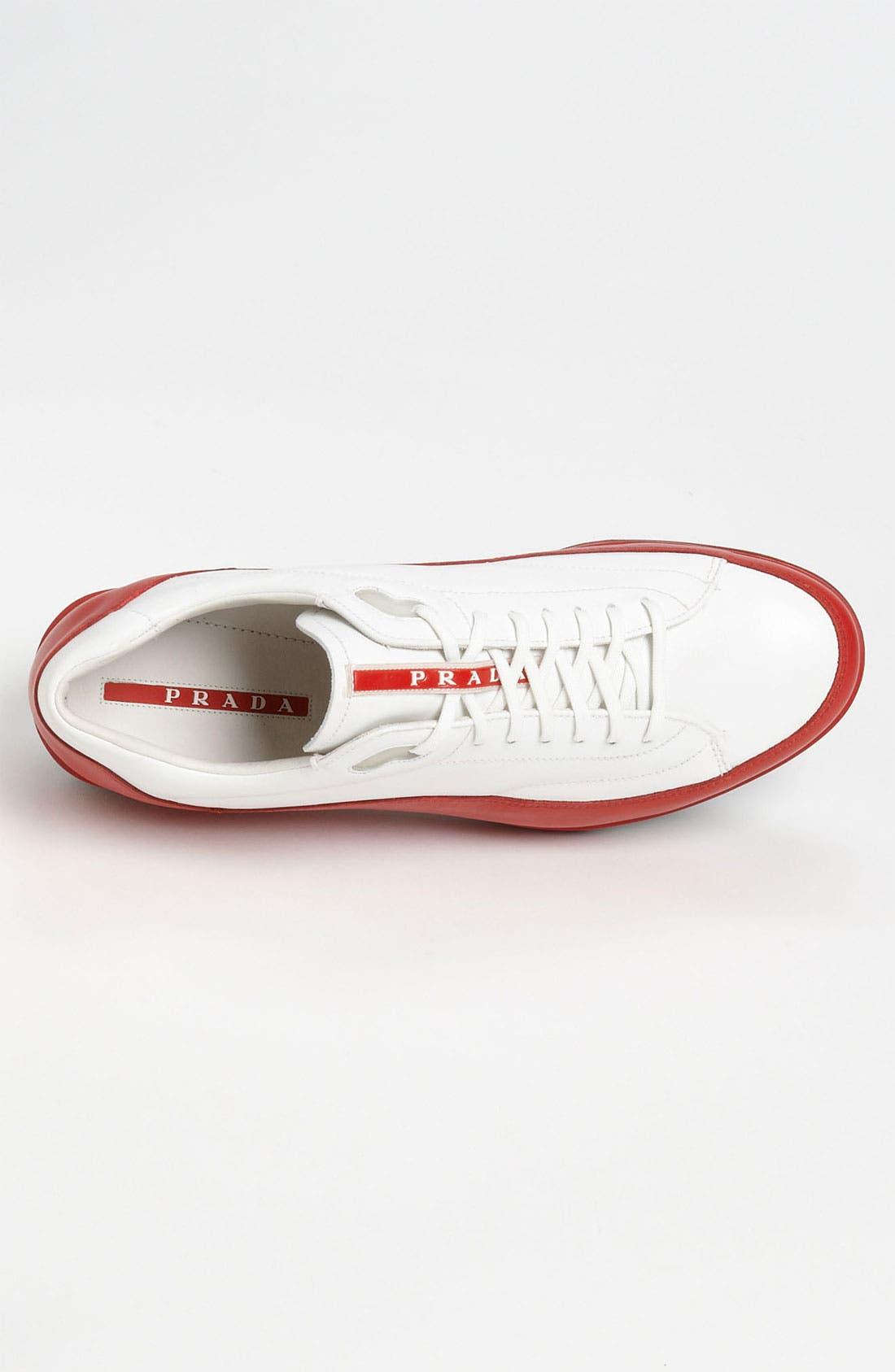 Alternate Image 3  - Prada Dipped Sneaker