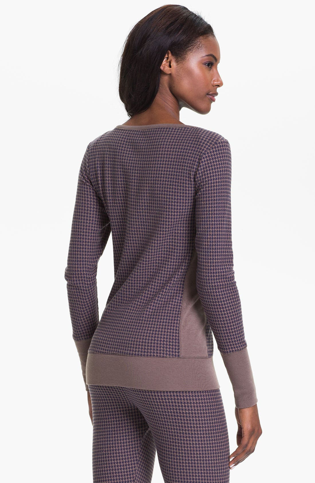 Alternate Image 2  - DKNY Banded Base Layer Top