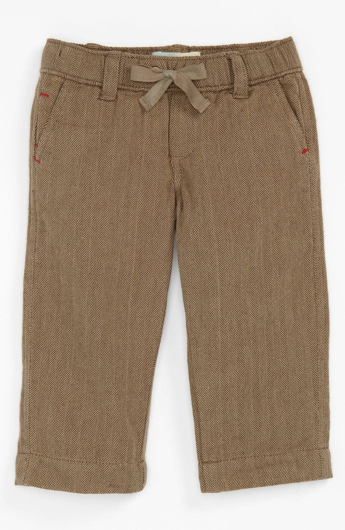 Main Image - Peek 'Homestead' Herringbone Pants (Infant)