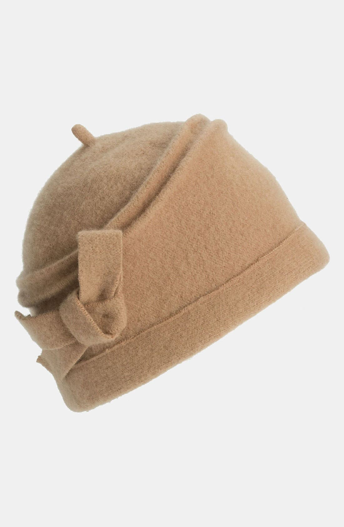 Alternate Image 1 Selected - Tarnish Boiled Wool Cloche