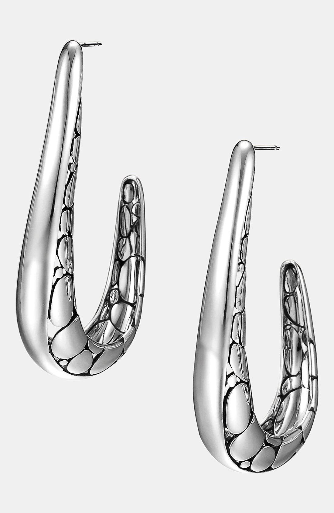 Alternate Image 1 Selected - John Hardy 'Kali' Hoop Earrings