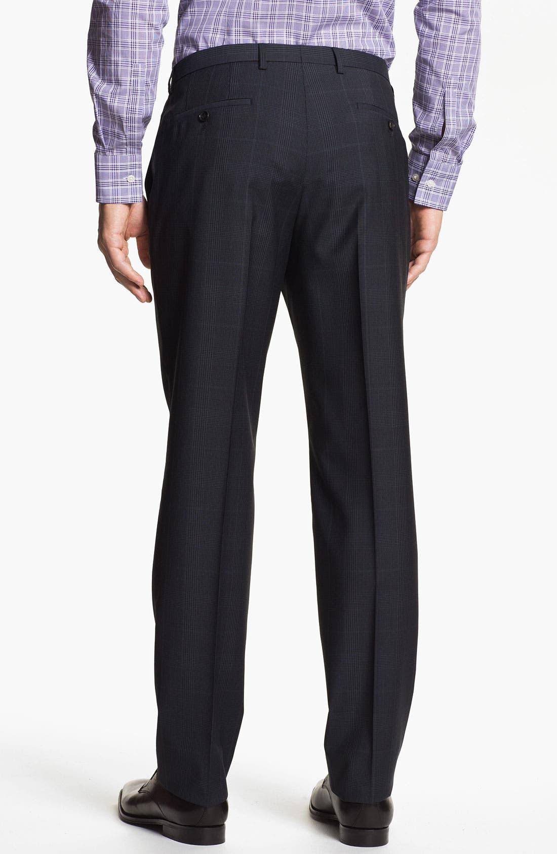 Alternate Image 5  - BOSS Black 'Jam/Sharp' Trim Fit Plaid Suit