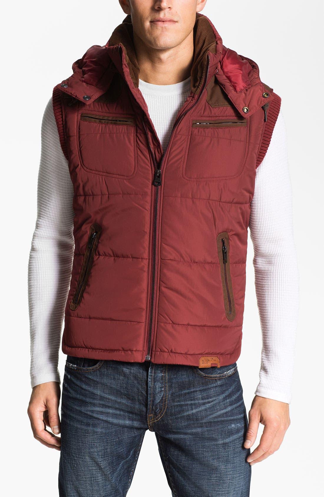Alternate Image 1 Selected - DIESEL® 'Wilfrid' Quilted Vest