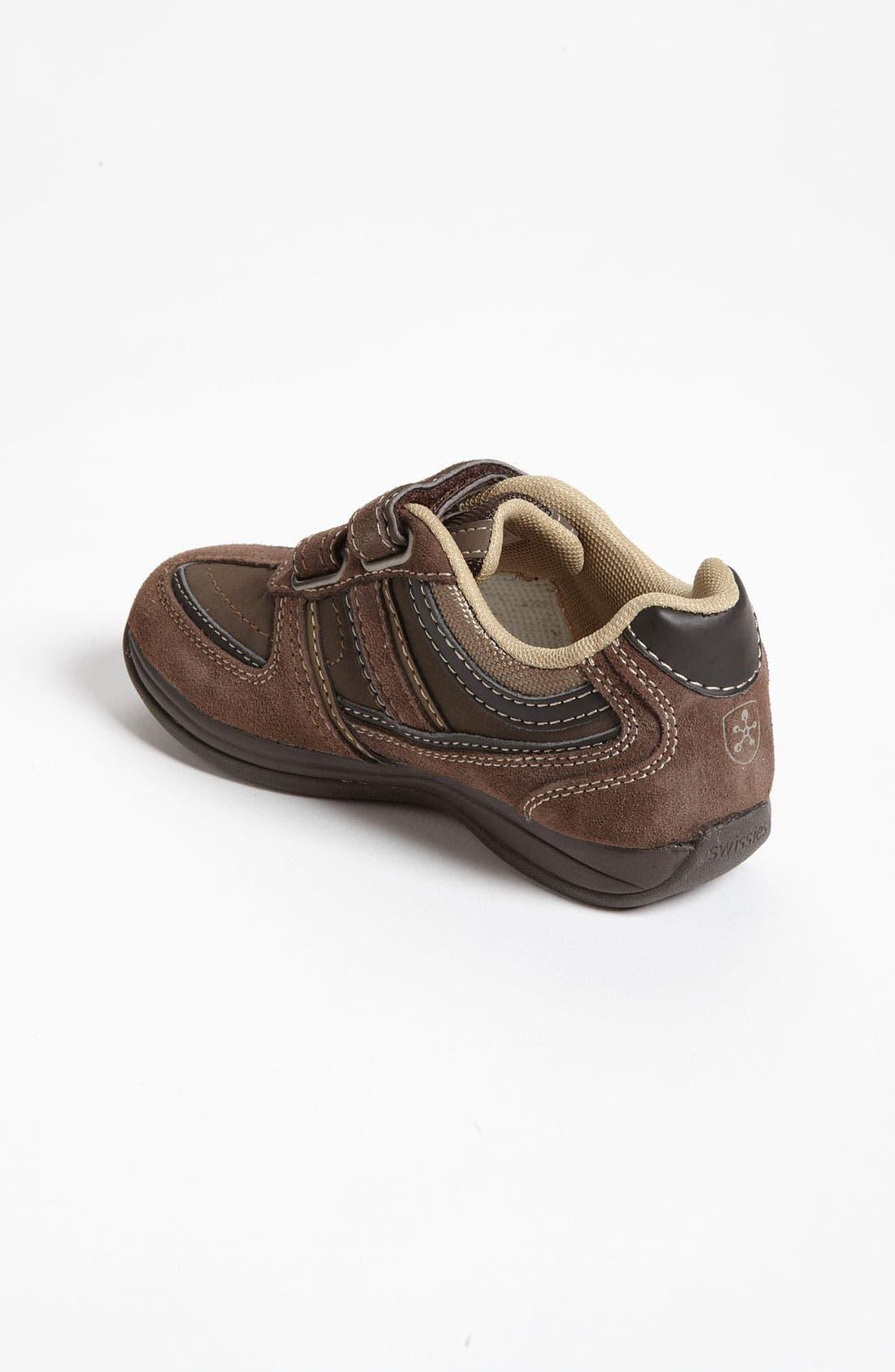 Alternate Image 2  - Swissies 'Derek' Sneaker (Toddler, Little Kid & Big Kid)