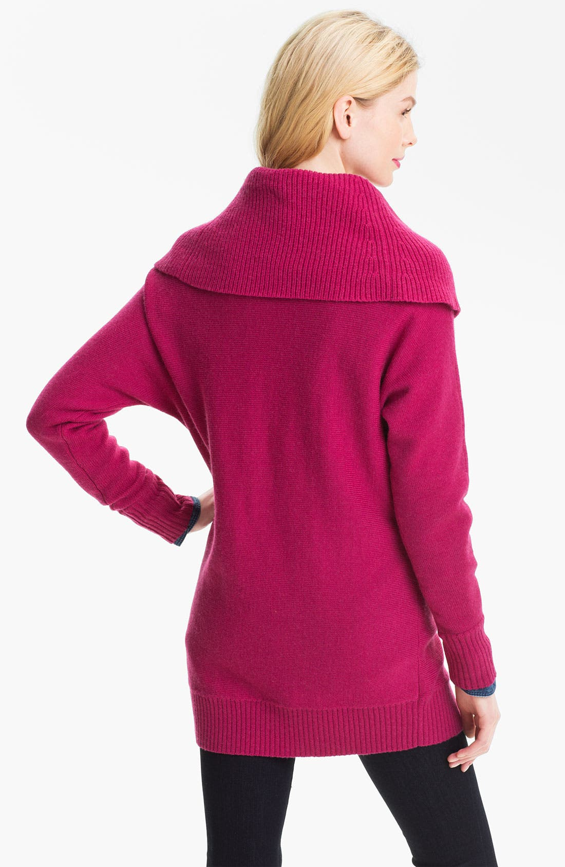 Alternate Image 2  - Caslon® Cowl Neck Dolman Sweater